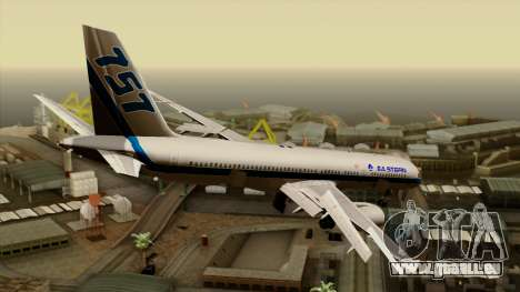 Boeing 757-200 Eastern Air Lines für GTA San Andreas linke Ansicht