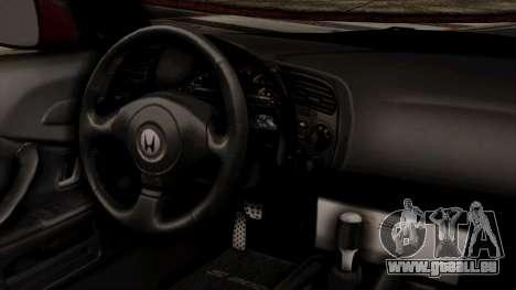 Honda S2000 für GTA San Andreas rechten Ansicht