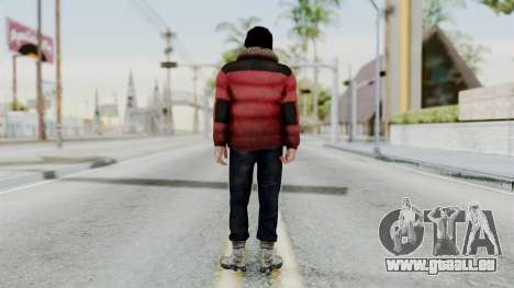 Willis Huntley from Far Cry 4 pour GTA San Andreas troisième écran