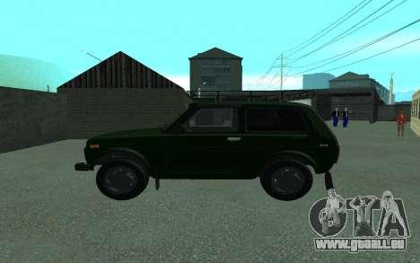 VAZ 21213 Niva pour GTA San Andreas laissé vue