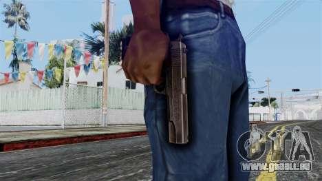 Colt M1911 from Battlefield 1942 für GTA San Andreas dritten Screenshot