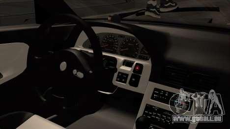 Nissan 240SX HQ pour GTA San Andreas vue de droite