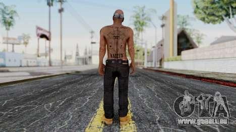 2Pac Skin HD v1.0 pour GTA San Andreas troisième écran