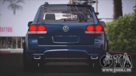 Volkswagen Touareg R50 2008 für GTA San Andreas Unteransicht