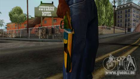 Brasileiro Sawnoff Shotgun v2 pour GTA San Andreas troisième écran