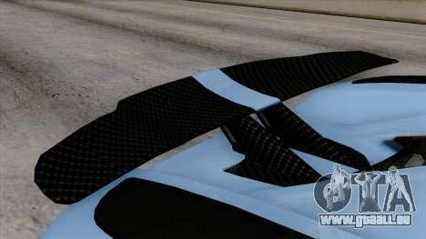 Koenigsegg Agera R 2014 Carbon Wheels für GTA San Andreas rechten Ansicht