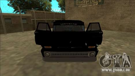 Chevrolet C10 Drift Monster Energy für GTA San Andreas Innenansicht