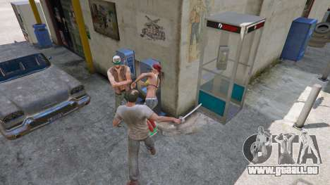 GTA 5 Katana quatrième capture d'écran