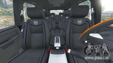 GTA 5 Cadillac Escalade ESV 2012 vorne rechts Seitenansicht