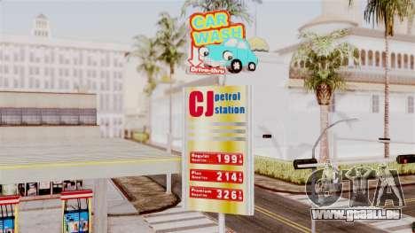 LS CJ Gas v2 pour GTA San Andreas deuxième écran