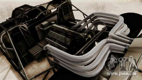 Camo Flip Car für GTA San Andreas Rückansicht