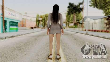 Kokoro Business Suit pour GTA San Andreas troisième écran
