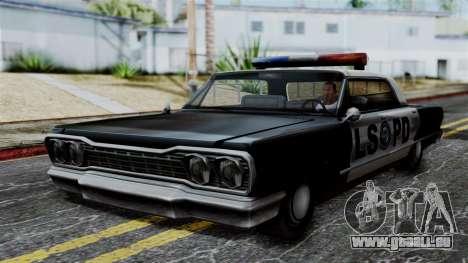 Police Savanna 2.0 pour GTA San Andreas