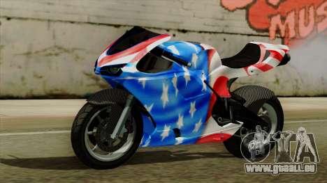 Bati America Motorcycle für GTA San Andreas