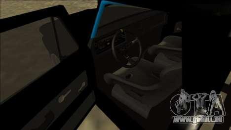 Chevrolet C10 Drift Monster Energy pour GTA San Andreas vue de droite