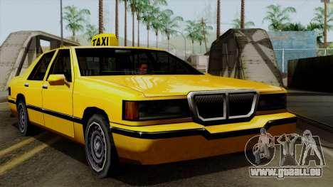 Elegant Taxi pour GTA San Andreas