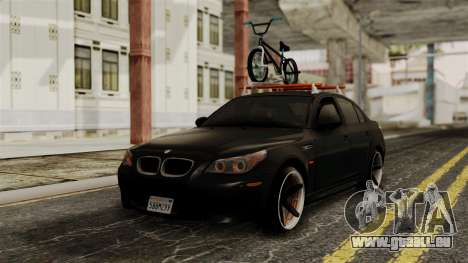BMW M5 E60 Vossen v1 pour GTA San Andreas