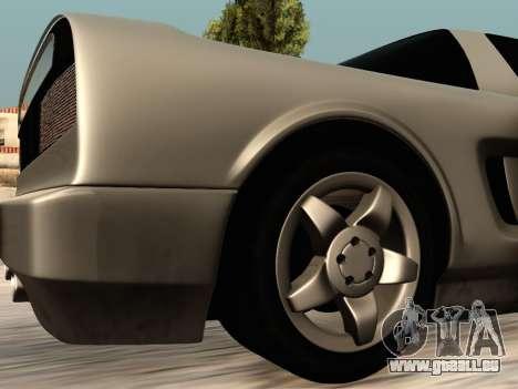 Infernus PFR v1.0 final pour GTA San Andreas vue de côté