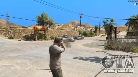 GTA 5 Insane Overpowered Weapons mod 2.0 troisième capture d'écran