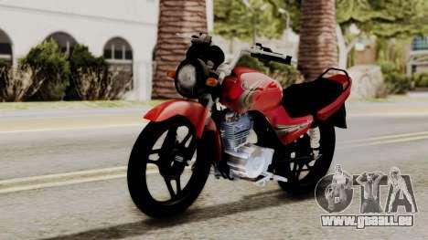 Yamaha YBR Imitacion für GTA San Andreas