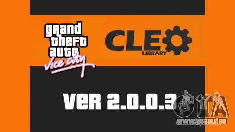 CLEO 2.0.0.3 pour GTA Vice City