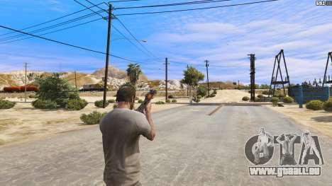 GTA 5 OTS-14 Groza de Battlefield 4 quatrième capture d'écran