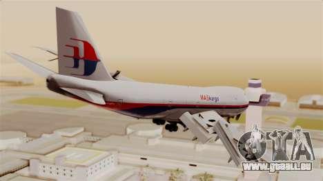 Boeing 747 MasKargo für GTA San Andreas linke Ansicht