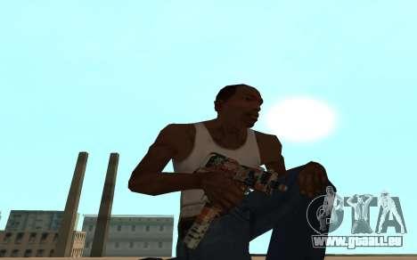Asiimov Weapon Pack v2 für GTA San Andreas siebten Screenshot