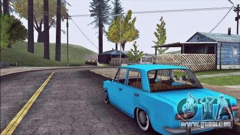 VAZ 2101 Resto pour GTA San Andreas vue de droite