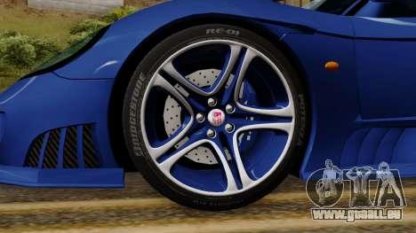 Saleen S7 pour GTA San Andreas sur la vue arrière gauche