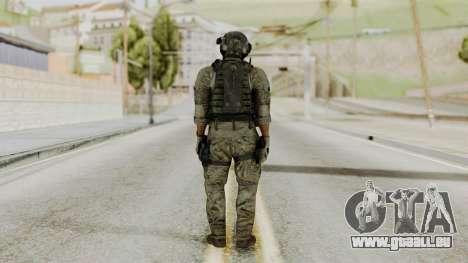 Derek Frost from CoD MW3 pour GTA San Andreas troisième écran