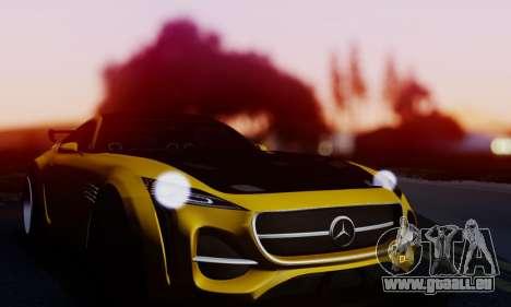 Mercedes-Benz AMG GT für GTA San Andreas Rückansicht