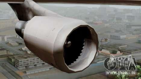 Boeing 747-400 Friendship Tag pour GTA San Andreas vue de droite