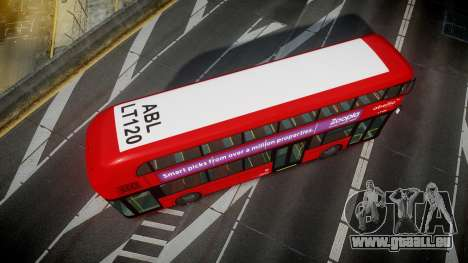 Wrightbus New Routemaster Abellio London pour GTA 4 est un droit