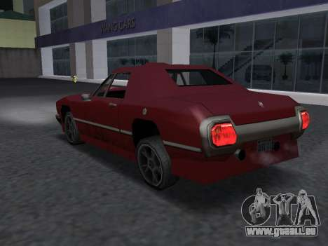 New Stallion für GTA San Andreas Innenansicht