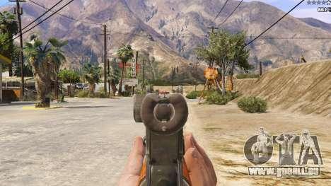 GTA 5 OTS-14 Groza de Battlefield 4 sixième capture d'écran