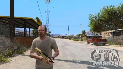 GTA 5 TAR-21 из Battlefield 4 dritten Screenshot