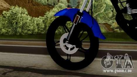 Bera Socialista 2014 pour GTA San Andreas sur la vue arrière gauche