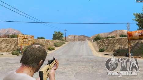 GTA 5 TAR-21 из Battlefield 4 vierten Screenshot