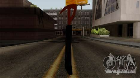 L'axe de La Forêt pour GTA San Andreas deuxième écran