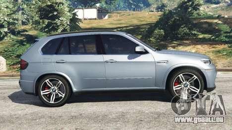 GTA 5 BMW X5 M (E70) 2013 v1.01 vue latérale gauche