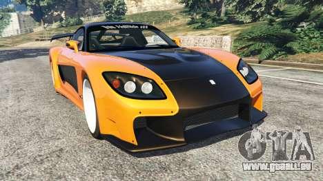 Mazda RX-7 Veilside Fortune v0.1 pour GTA 5