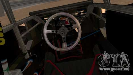 Camo Flip Car für GTA San Andreas zurück linke Ansicht
