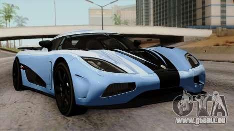 Koenigsegg Agera R 2014 Carbon Wheels pour GTA San Andreas
