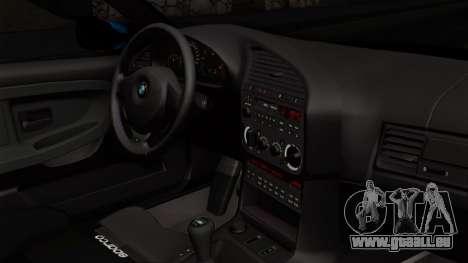 BMW M3 E36 79 pour GTA San Andreas vue de droite