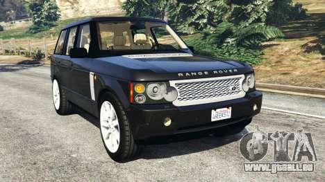 Range Rover Supercharged für GTA 5