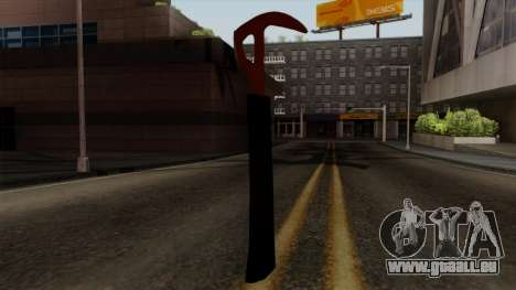 L'axe de La Forêt pour GTA San Andreas troisième écran