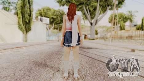 DOA 5 Kasumi Scarfed Frock pour GTA San Andreas troisième écran