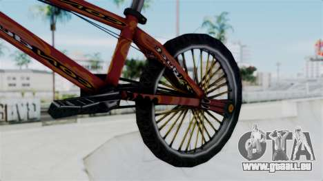Bike from Bully für GTA San Andreas rechten Ansicht