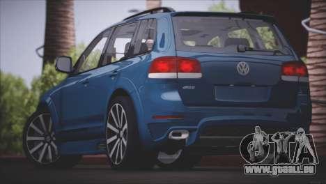 Volkswagen Touareg R50 2008 für GTA San Andreas Innen